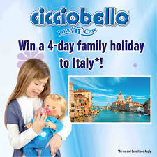 Win a family holiday to Italy